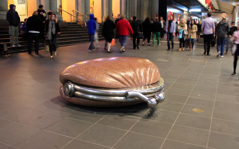 Melbourne bench 2